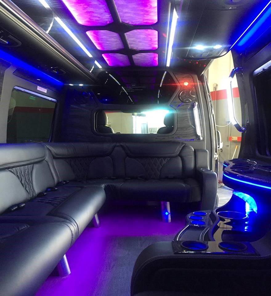 Sprinter Limousine Sprinter Van Rental Houston